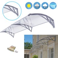 Wholesale Outdoor Polycarbonate Front Door Window Awning Patio Cover Canopy