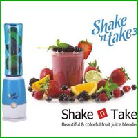 Wholesale Smoothie Maker Shake n Take Mini Multifunction Juicer Ice extractor Outdoor Travel Sports cup Portable Fruit Mixer