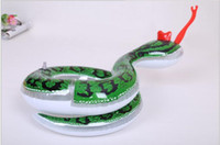 Wholesale Eco friendly pvc material Outdoor beach inflatable baby Toys inflatable snake inflatable pool toy snake