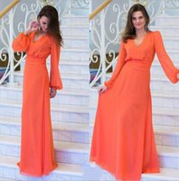 american alcohol - European and American women s dress chiffon dress Polyvinyl alcohol fibers Orange Red Solid color Collage splicing Fashion lady clothe