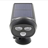 battery powered outdoor motion light - 2 LED Solar Powered PIR Motion Night Sensor Garden Lamp Outdoor Wall Light Pure White mAh Battery Lighting Modes