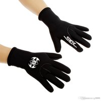 Wholesale New SLINX mm Neoprene Wetsuit Scuba Diving Gloves Surfing Snorkeling Swimming Gloves Warm Diving Equipment S M L