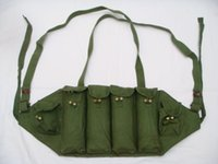 Wholesale CHINESE ARMY MILITARY AK TYPE CHEST RIG AMMO POUCH BAG