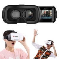 Wholesale Super D Virtual Reality VR D Video Glasses For Android IOS Smart Phones Compatible with quot to quot iPhone SE