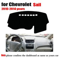 Wholesale Latest Style Dust proof Dash mats For Chevrolet Sail Auto Dashboard Covers Car Dashmat Automobile Dashboard Mat