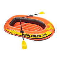 Wholesale Intex Explorer Person Inflatable Boat Set with French Oars and Mini Air Pump
