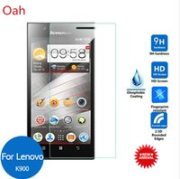 Cheap Lenovo IdeaPhone K900 Tempered glass Lcd Screen Protector 0.26mm 9H 2.5D Safety Protective film on K 900