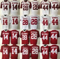 adrian peterson oklahoma jersey - Oklahoma Sooners Jersey Football Ncaa College Sam Bradford Adrian Peterson Brian Bosworth Jerseys White Red