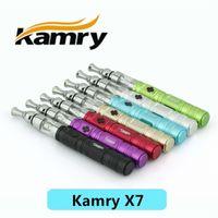 al por mayor kamry x7-Kit auténtico del arrancador de Kamry X7 del 100% con la punta giratoria 360 del goteo X6 V2 Kit del cigarrillo del atomizador E DHL libre