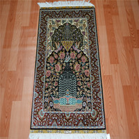 Wholesale 2x3ft Pure Silk Handmade Pakistani Rugs Design Carpet