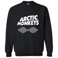 arctic monkeys hoodie - Brand new arctic monkeys hoodie sweatshirt outside printing fashion cotton round collar men sport leisure pullover