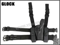 bh drops - IPSC BH style LV3 SERPA LIGHT BEARING HOLSTER SET GLOCK Compact RH Drop Leg GLOCK holster