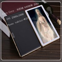 Wholesale Nerlmlay quot OctaCore Tablet PC GHz Gram G rom with AndrGoid IPS X1600 Display GPS Bluetooth DUAL SIM tablet phone
