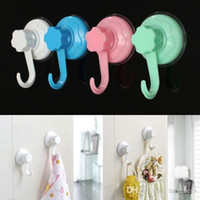 Wholesale 1pc Wall Suction Hook Hanger Powerful Vacuum Kitchen Bathroom Suction Cup Sucker