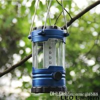 Wholesale Portable Lanterns Camping Lantern Outdoor Led Hiking Camping Light LED Lantern Outdoor Tent Portable Emergency Lamp With Compass OM XC5