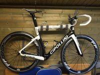 Wholesale White Cipollini NK1K Diy Carbon Road Full Bike Complete Bike With Ultegra Groupset FFWD WHEELSET MM