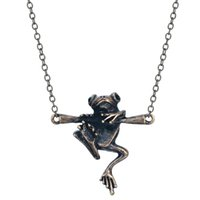 baby gifts personalized - 1pcs New Design Baby Frog on Branch Animal Charm Necklace Personalized Birthday Gift For Men Women Personalized Birthday Gift