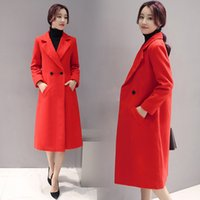 Wholesale Model winter fashionable slim hair coat Nechang double knee