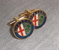 alfa free - cuff links Alfa romeo male shirt sleeve button nail sleeve
