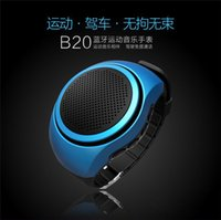 speaker for mobile phone - Top Selling B20 Mini Bluetooth Speaker Bass Smart Watch Bluetooth Wireless Universal For Music Player With TF Card