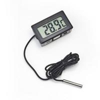 aquarium controller - Mini Digital LCD Probe Aquarium Fridge Freezer Thermometer Thermograph Temperature for Refrigerator Degree FY JF