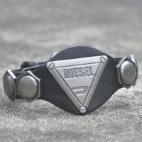 antique metal jewelry box - summer style men jewelry pulseira Genuine Leather Bracelets Antique Metal Studs Cool Rock Design