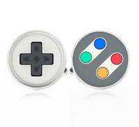 Wholesale Video Game Remote Buttons Cufflinks Handmade Cufflinks Video game Cufflinks for men for gift