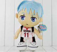 basketball video games - Anime Kuroko s Basketball Plush Toy Kuroko Tetsuya Soft Stuffed Doll cm Kids Toys High quality