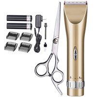 Wholesale Professional Barber Clippers Electric Hair Clippers Hair Trimmers Hair Cut Kit Comes with Two Lithium Batteries Cordless Clippers