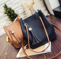 ribbon bow and flowers - 2016 Luxury handbags designer handbags Women Tassel Shoulder Bag Handbags Messenger Bag Women s Fashion Crossbody Bags totes