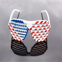 american flag standards - Halloween Funny Fashion Glasses US American National Flag Lattice Party Adult x8cm Glasses Holiday Glasses Party Supplies Decoration