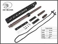 aluminum railing kits - 13 inch LVOA C Sports Rifle Rail System The bionic king cobras series CNC Aluminum Handguard Rail Kit For GBB
