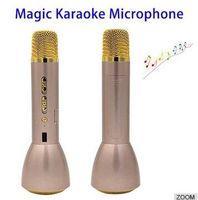 best portable microphone - Best K088 Karaoke Player Wireless Bluetooth Speaker with Music Microphone Portable KTV Singing Sound OK Player