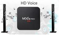Wholesale 2016 new high quality genuine MXQPRO network set top box s905 Internet TV player TVBOX