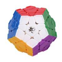 Venta al por mayor a estrenar del DaYan Megaminx cubo mágico dodecaedro con el cantón Las crestas multicolores de juguete rompecabezas para la Educación Especial