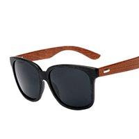 big quality mirrors - The new men s sunglasses big face black sunglasses driving mirror glasses vintage wooden leg high quality sunglass Gold Wood Glasses Frames
