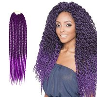 ... Twist Crochet Braids Hair Extensions Ombre Braiding Senegalese Box