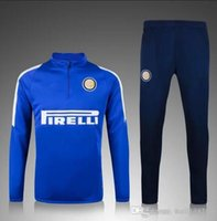 Wholesale 2015 Inter Milan Jacket clothes out tracksuit coat Suit Training Shirt Jersey Jacket