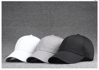 Wholesale 2016 Unisex High Quality Plain Cotton Solid Color Golf Hat Baseball Cap Peak Cap