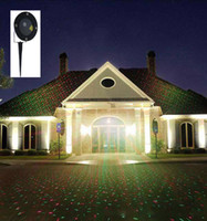 Wholesale Free delivery outdoor waterproof garden lamp laser stage lighting landscape lawn light green and red display projection light