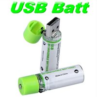 aa life - 10pair AA rechargeable battery USB Charger Batteries v mAh bateria rechargeable battery Long Life Nimh Battery