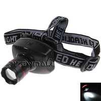 Wholesale Durable Headlamp W LED Headlight flashlight head light with High Power Zoom Founction for Fishing Riding climing