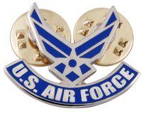 air force tie - US USAF AIR FORCE WINGS PIN LAPEL PIN TIE TACK SMALL PIN BADGE