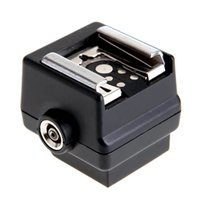 Wholesale HONGDAK HD N3 Hot Shoe Adapter High quality Flash Hot Shoe PC Sync Socket Adapter for Sony Minolta DSLR