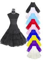 Wholesale 26 Retro s Underskirt Swing Vintage Petticoat Fancy Net Skirt Rockabilly Tutu