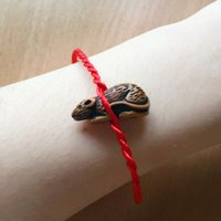 bar sheep - Red Rope Animal Bracelet twelve Chinese zodiac signs Fish Dog Horse Cock Sheep Ox Snake Mouse Tiger Monkey Fish Rabbit