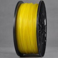 Wholesale PLA YELLOW colors Wanhao d Printer filament PLA mm plastic spool kg