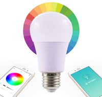 rf light wireless remote control - DHL New Wireless Bluetooth Speaker LED Light Bulb W With RF Remote Control Smart lamp RGBW Color Changable Intelligent Bulb