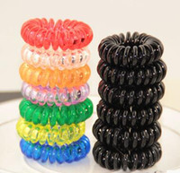big bold rings - hair jewelry candy does not hurt the hair in big bold black telephone line hair ring hair rope mosquito