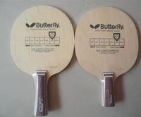 Wholesale 2pcs Butterfly KORBEL Racket Table tennis blade Horizontal grip handle FL Straight grip handle CS